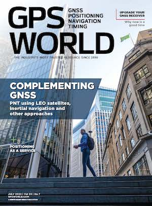 GPS World COVER