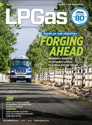 LP Gas Cover